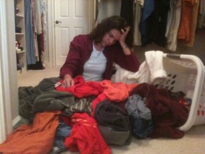 Too Much Laundry
